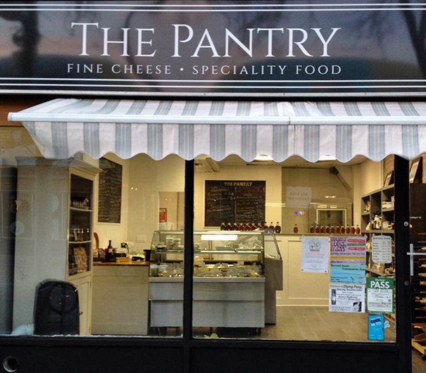 the pantry storefront